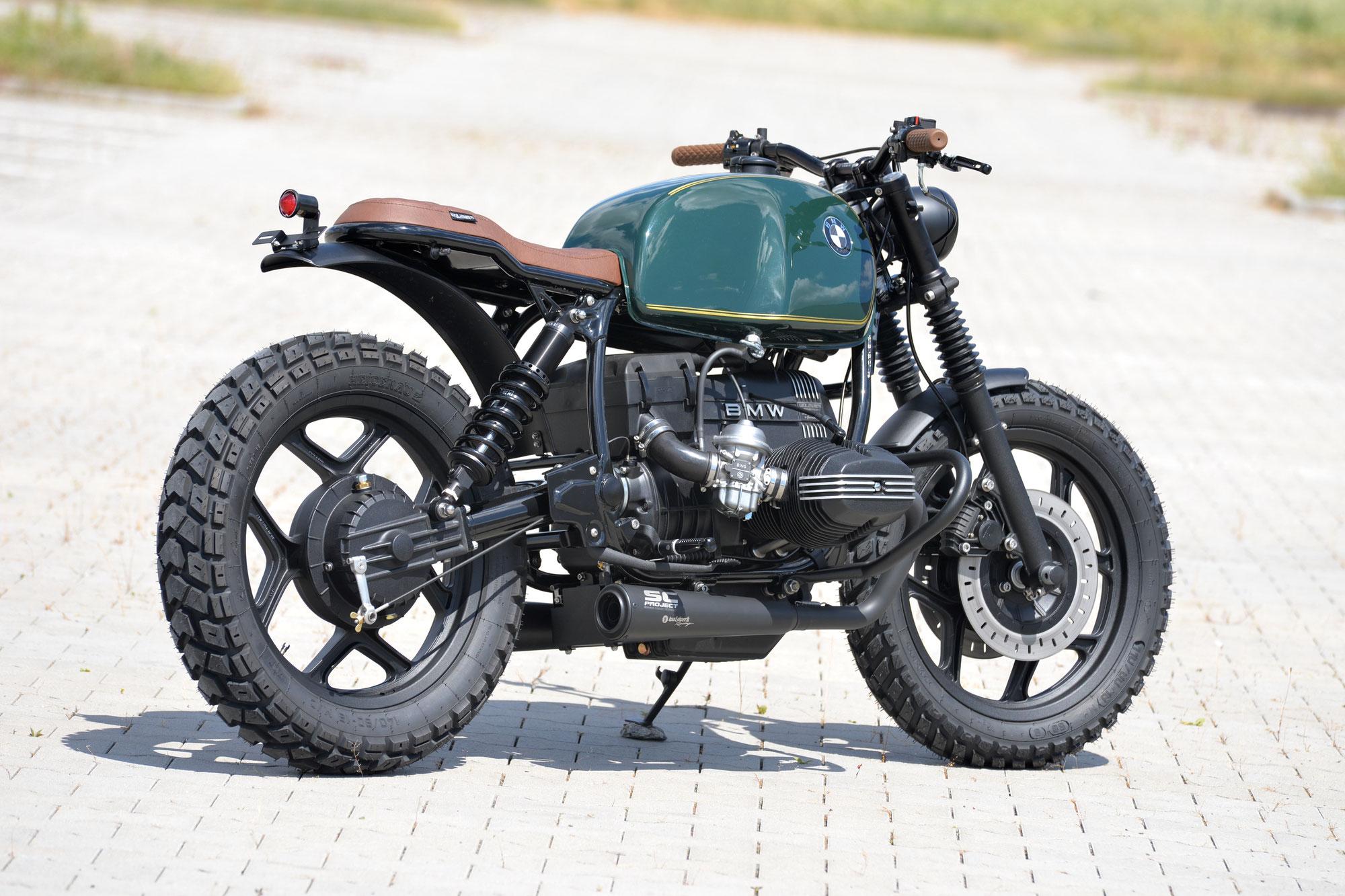 "New Bike: SCHIZZO® Scrambler in  ""british racing green""!"