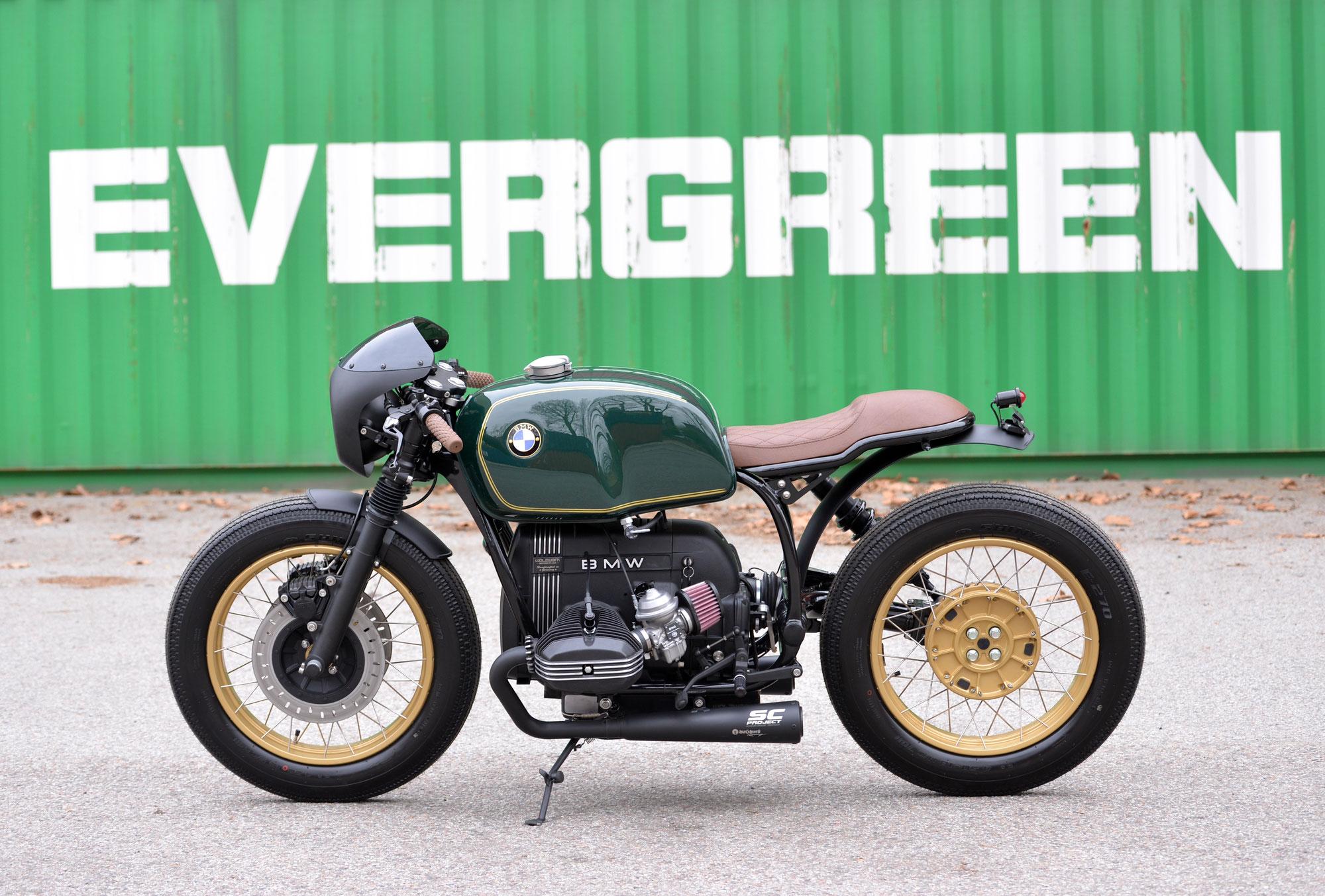 "New Bike: SCHIZZO® Cafe Racer in ""British Racing Green""!"