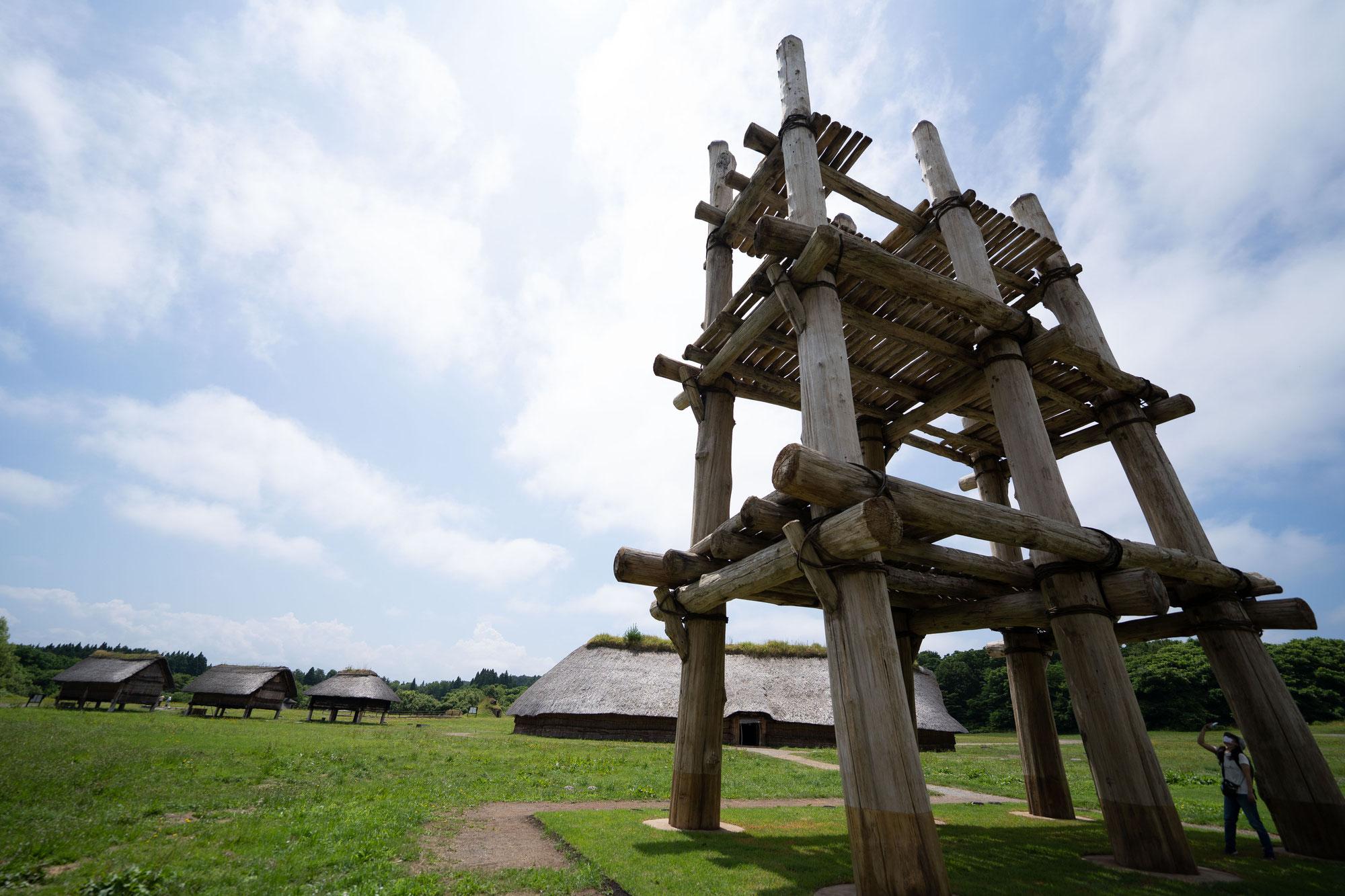三内丸山遺跡→古牧野遺跡→亀ヶ岡石器時代遺跡→大湯環状列石