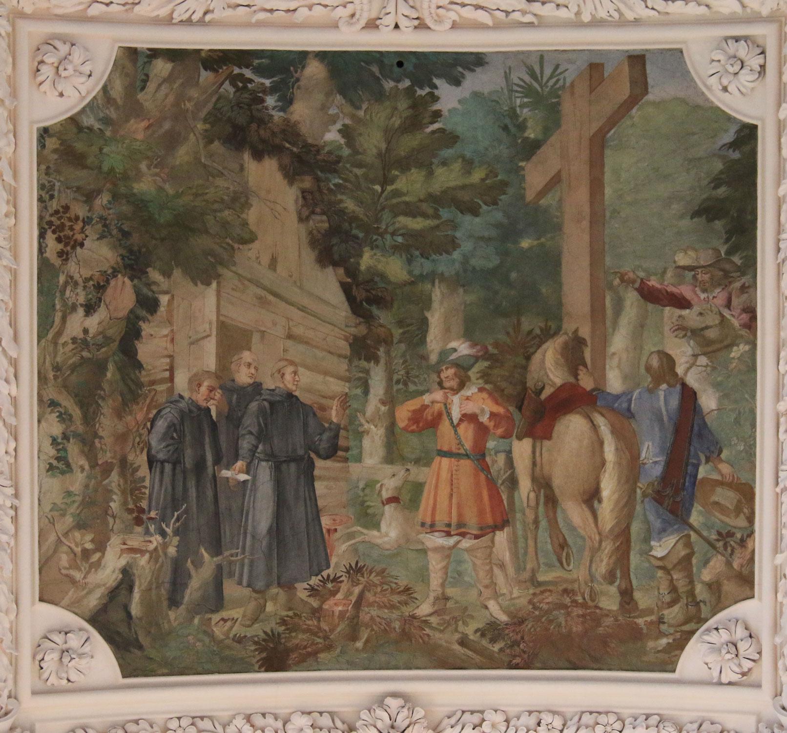 Einsiedler und Klosterstifter – ein frühneuzeitlicher Bildtopos