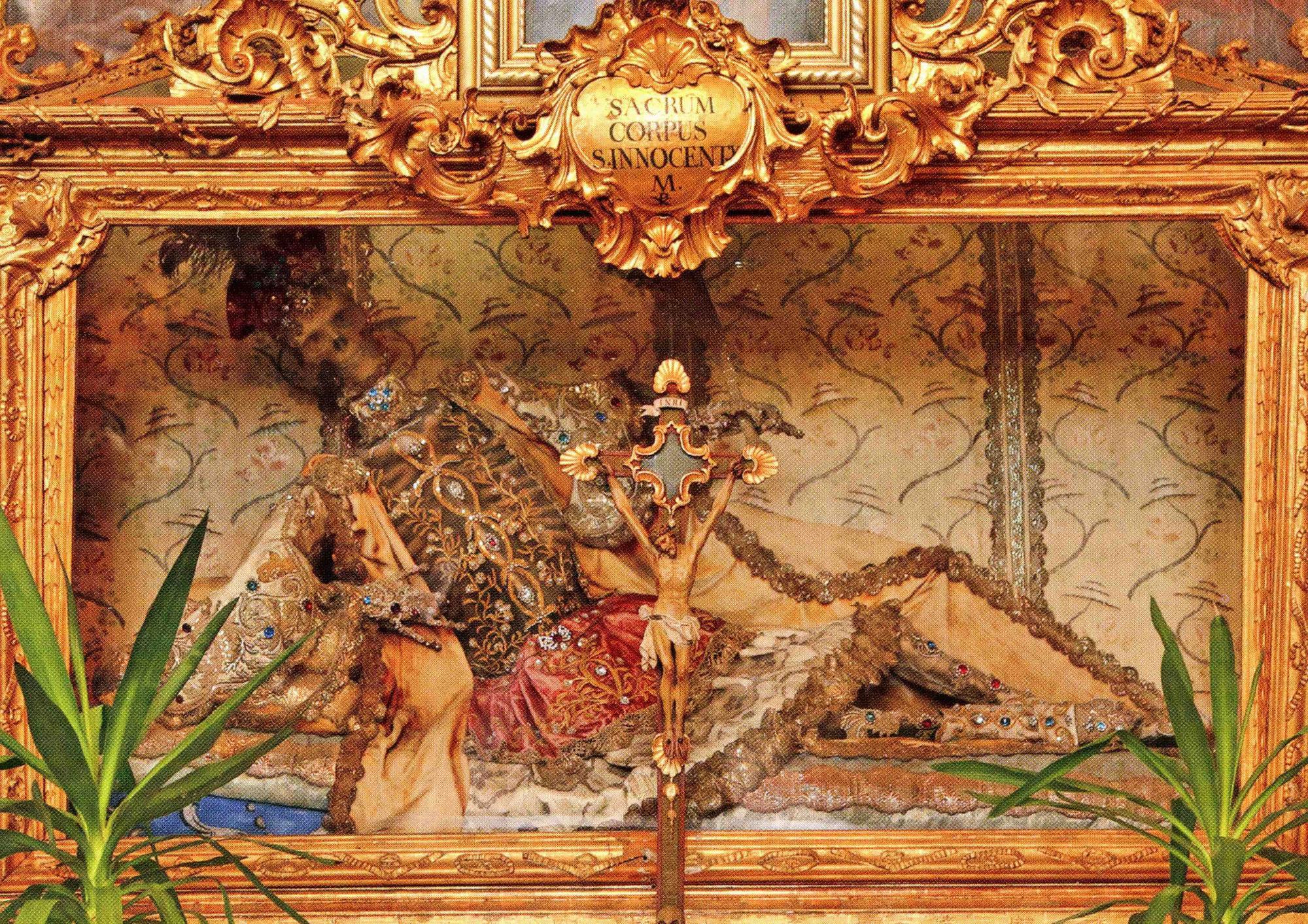 Der Leib des hl. Innocentius in Michelfeld