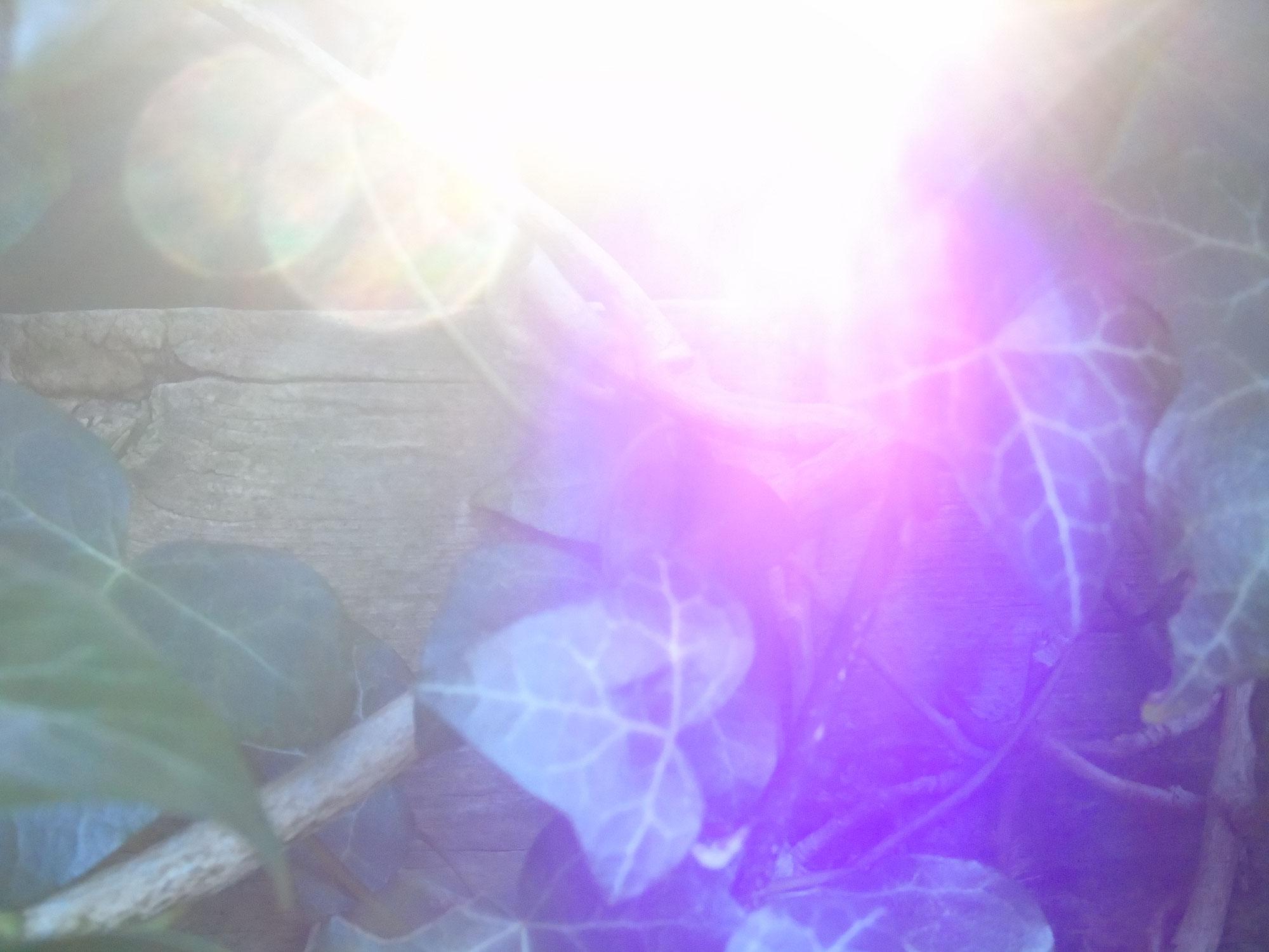Ich bin das Licht  - ein morgendliches Gespräch mit meinem Geistigen Riesen