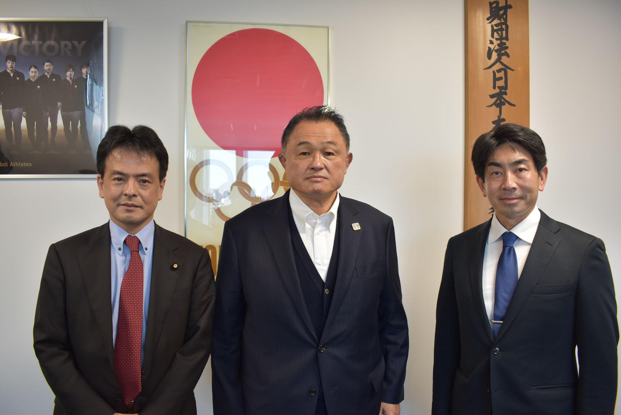日本オリンピック委員会(JOC)会長、山下泰裕先生