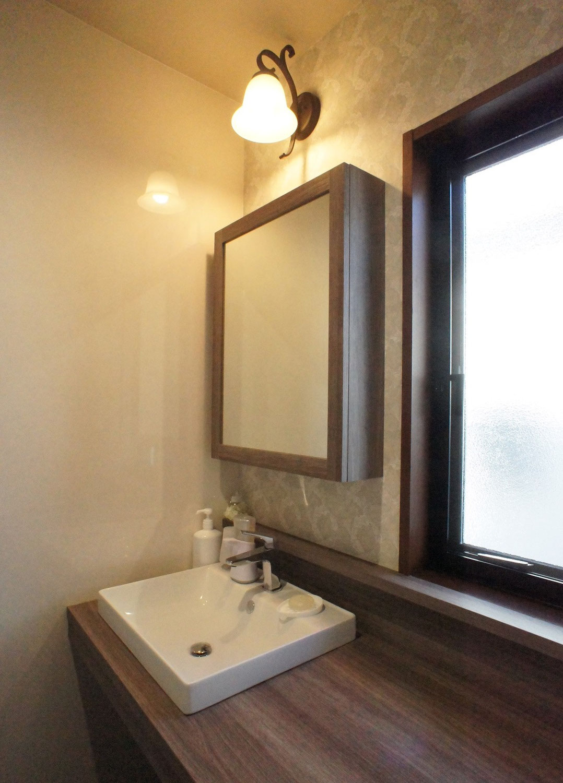 暮らしにゆとりを持てる洗面室に