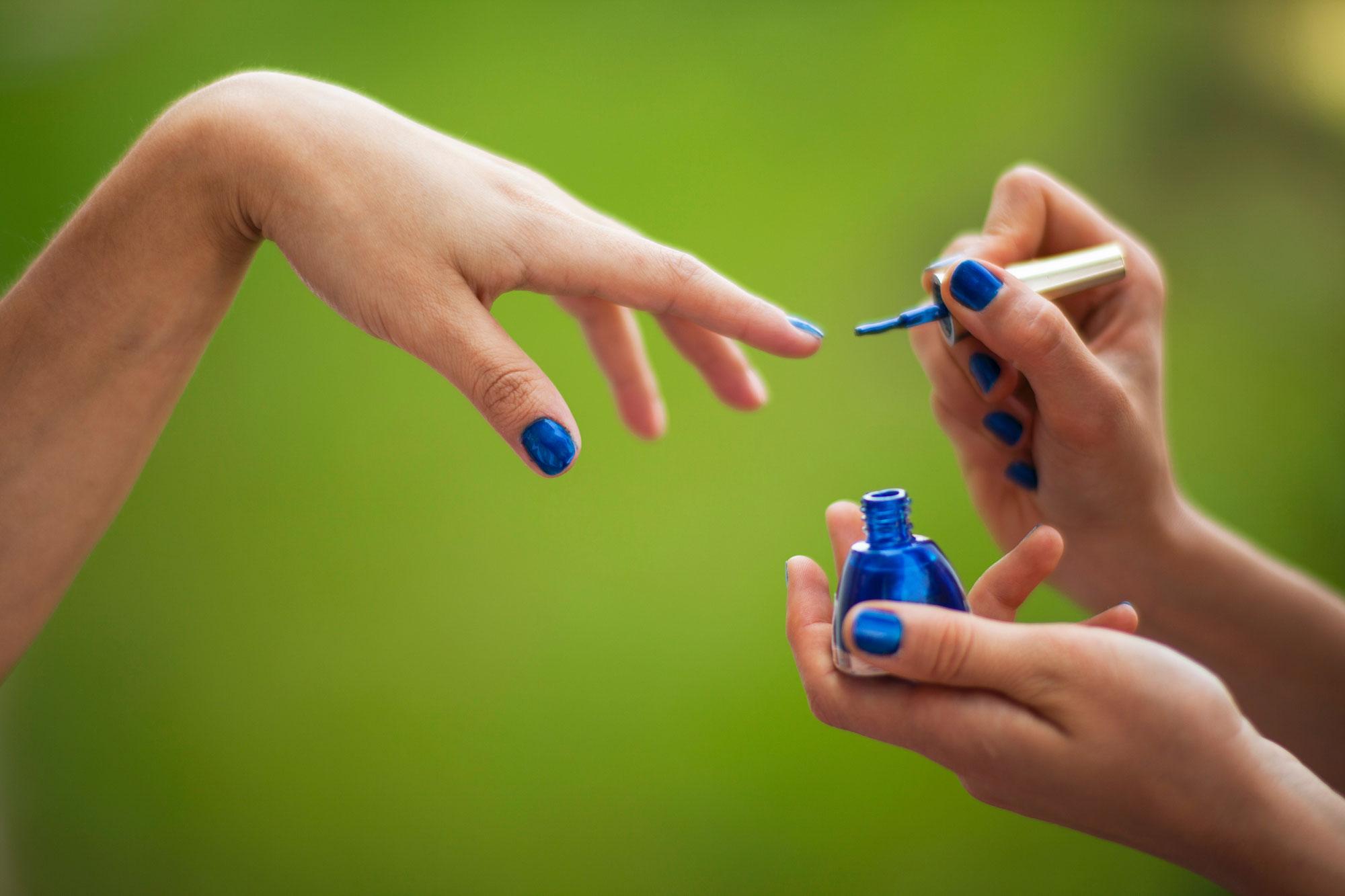 green beauty: natural nails