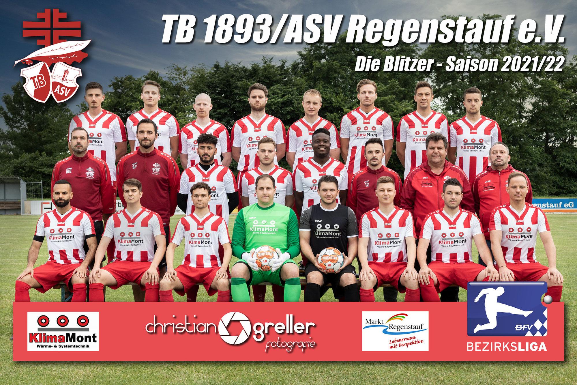 Neues Teamfoto für die Regenstaufer Fußballer