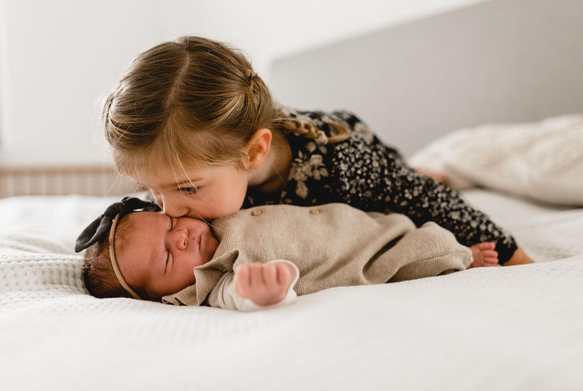 Neugeborenen Homestory - auch zu Zeiten von Corona