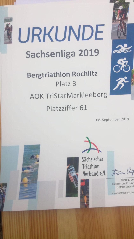 Landesliga: Wieder Podestplatz in Rochlitz