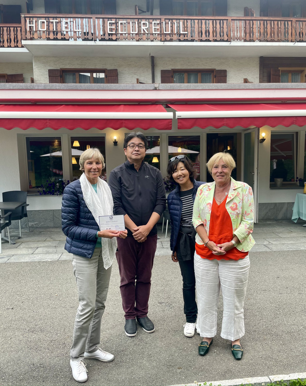 Amicale Dames Sponsor Hôtel Ecureuil et Sushi B