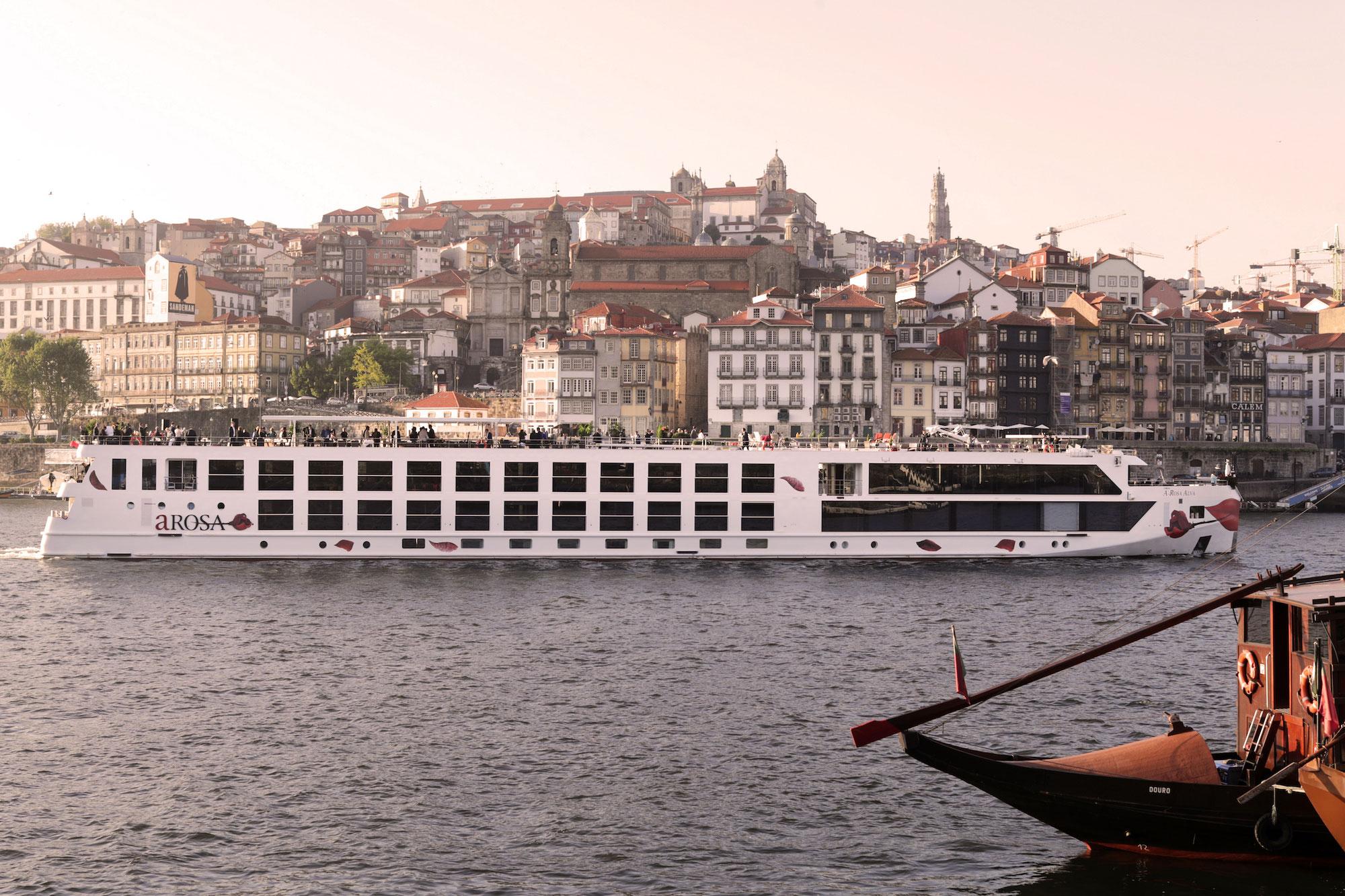 A-ROSA mit erfolgreichem Neustart in Portugal