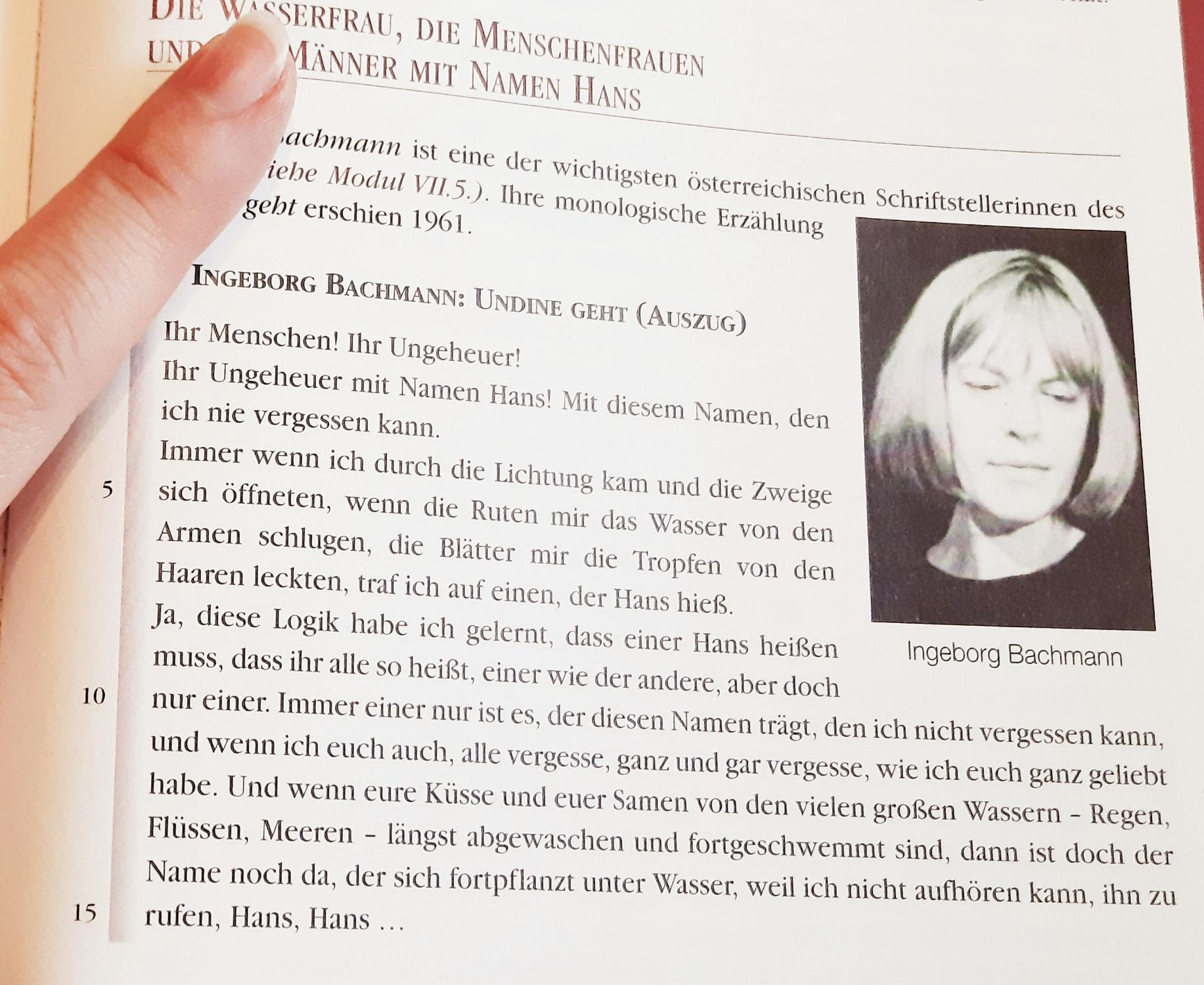 Ingeborg Bachmann - 95. Geburtstag