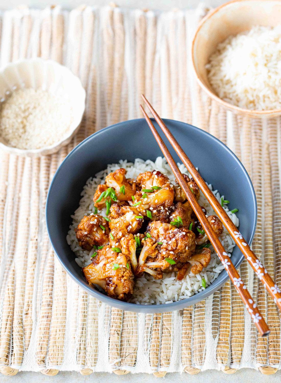 Chou-fleur sauce aigre-douce façon général Tao (Chine)