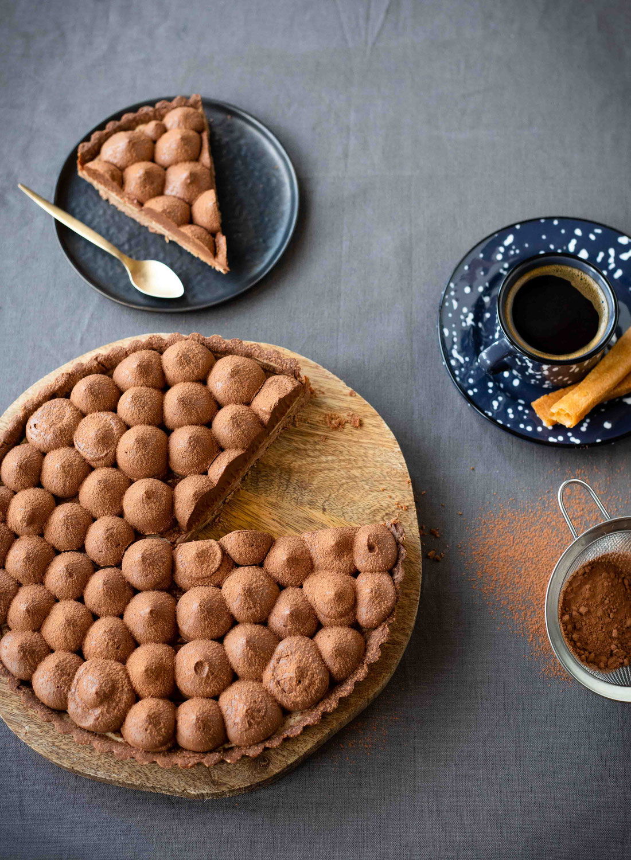 Tarte chocolat-café