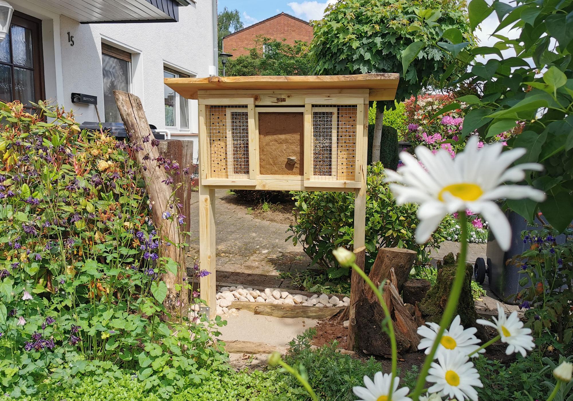 Trend Insektenhotels im Garten: Eine vergebene Mühe?