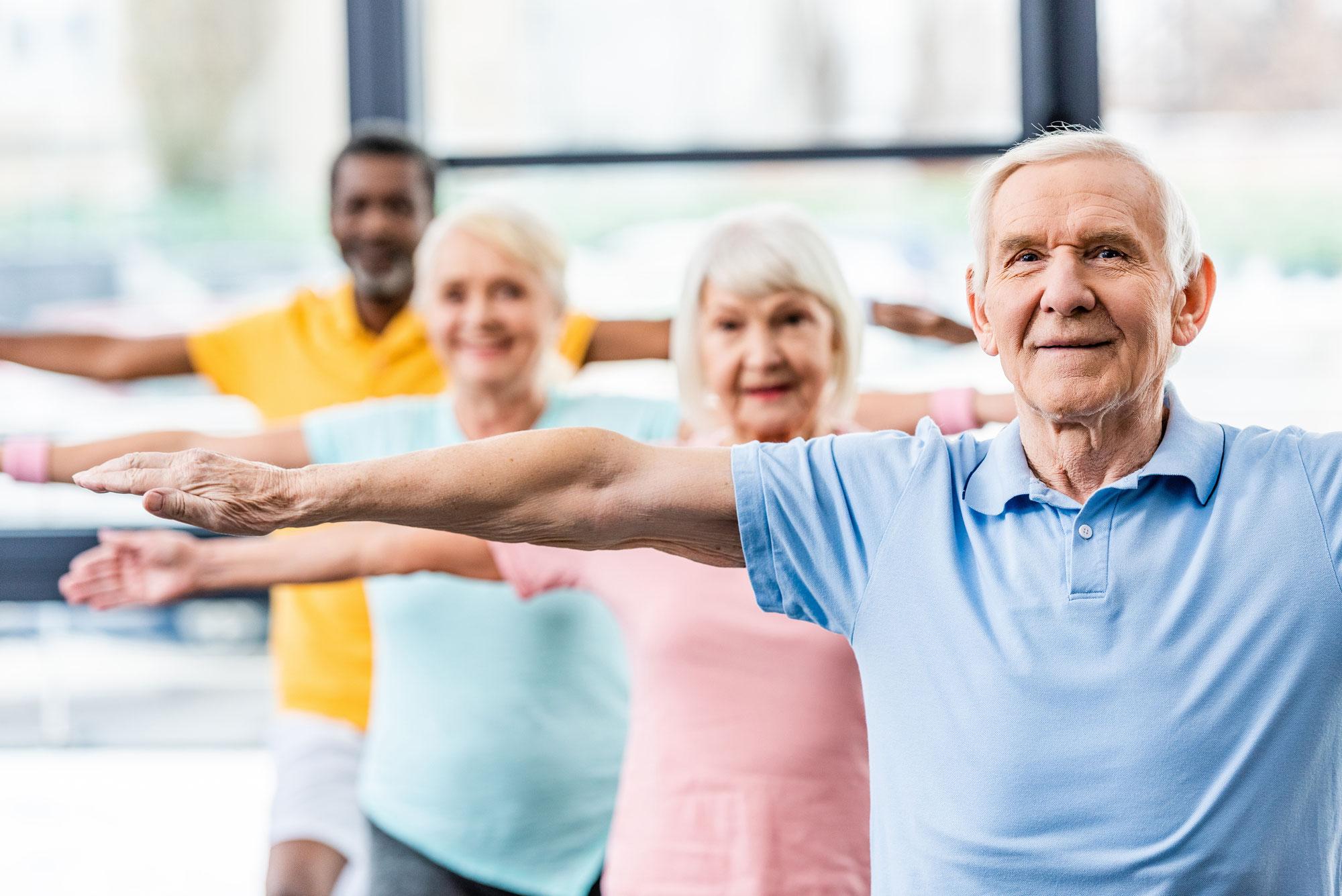 Netzwerkblog: «Dehaim gsund blyybe» - Übungen für Senior*innen auf Telebasel