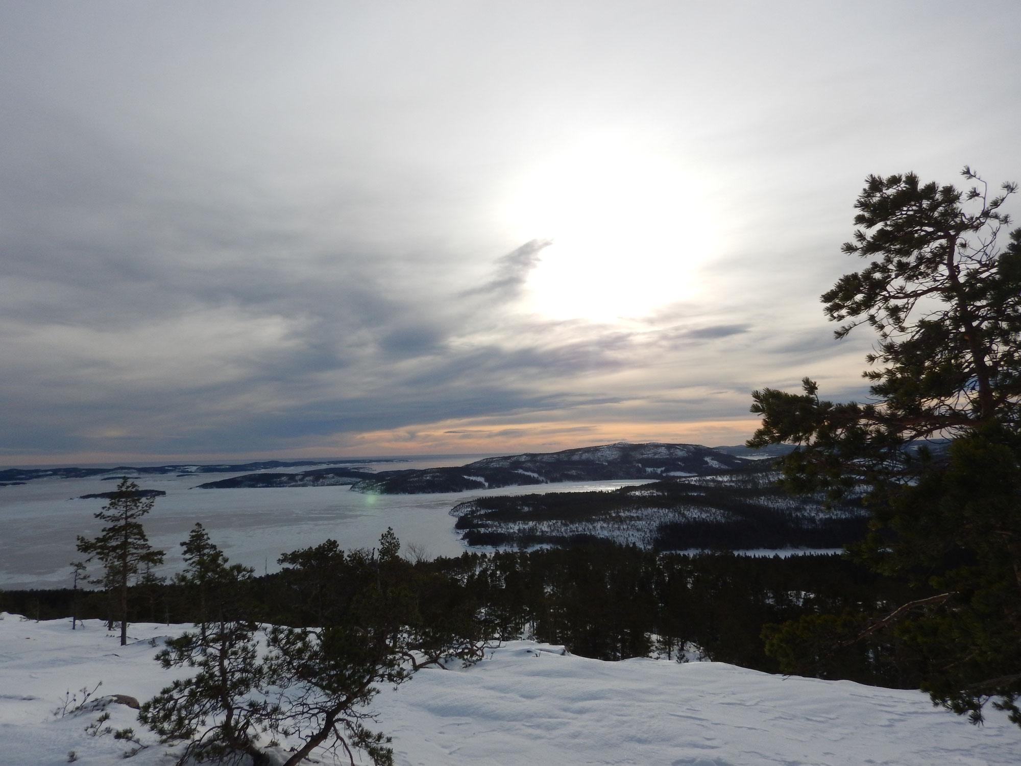 Schneeschuhtour im Skuleskogen Nationalpark