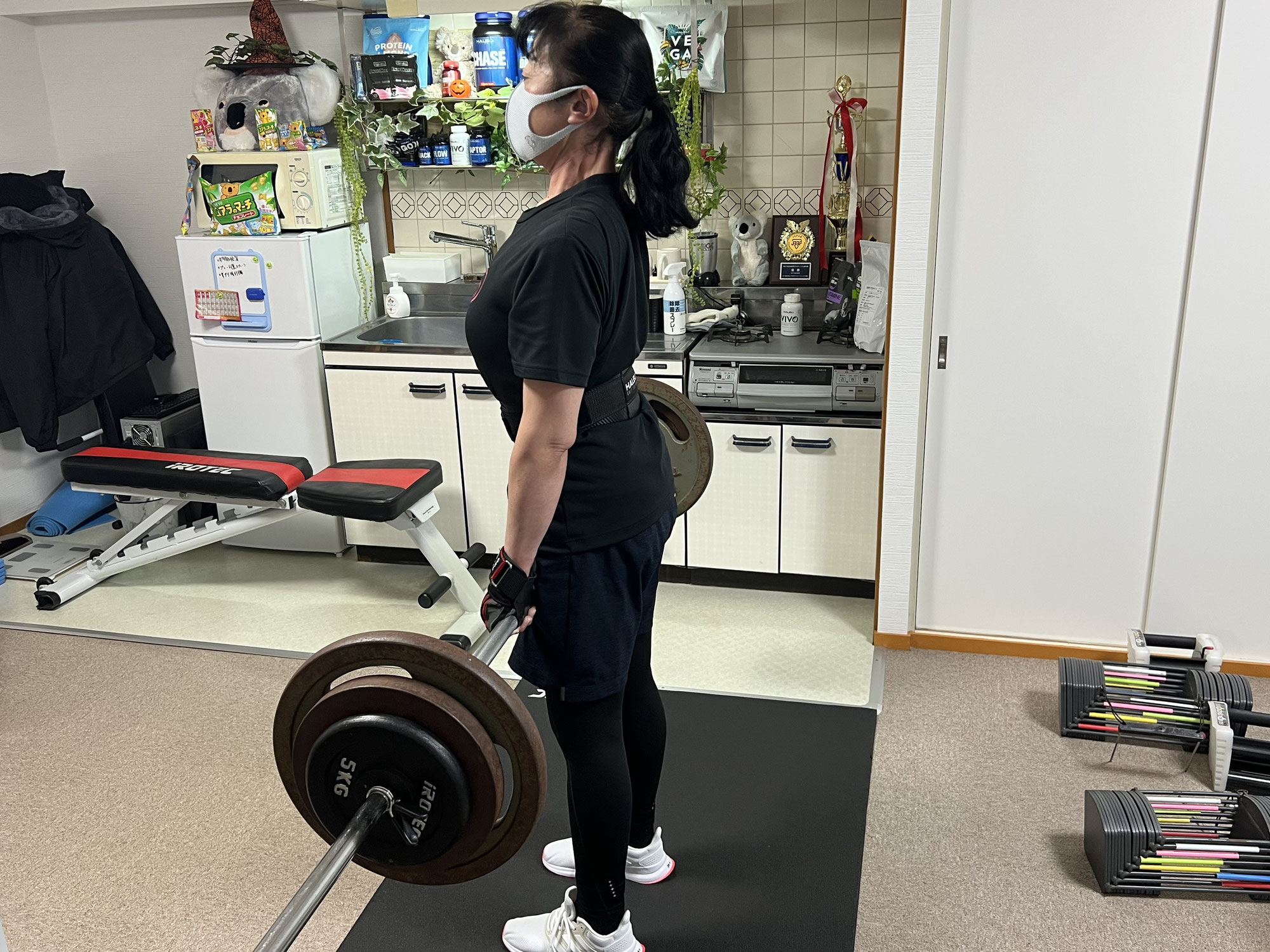 減量中こそ重量を落さない!