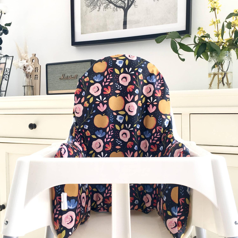 Une housse de chaise haute pratique et confortable