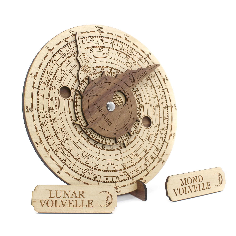 Ankündigung: Mond-Volvelle Deluxe