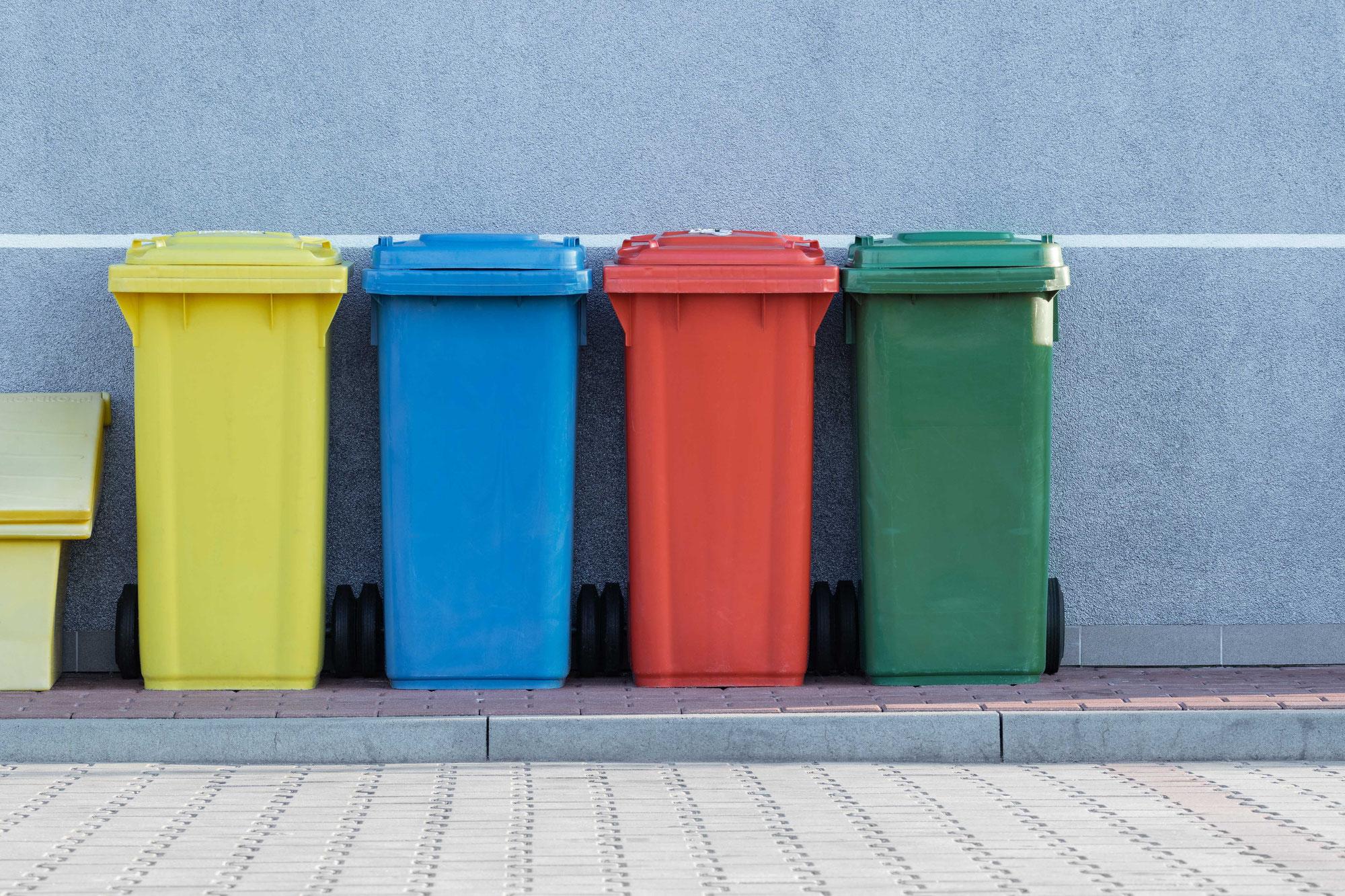 Abfallaufkommen in Deutschland 2019 leicht gesunken