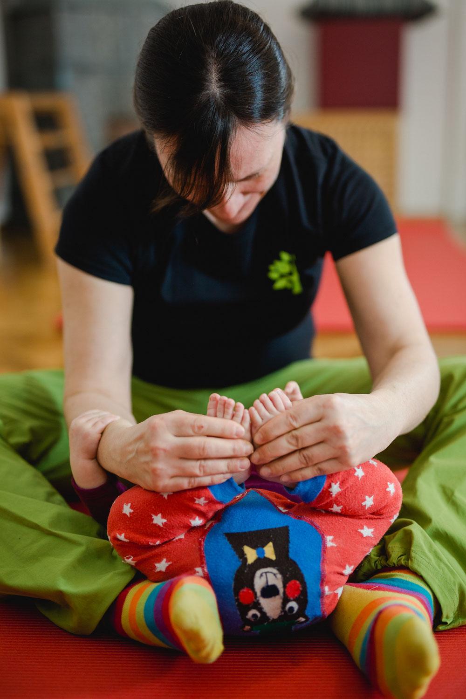 Fallbeispiel #6 - Baby mit Fußfehlstellung