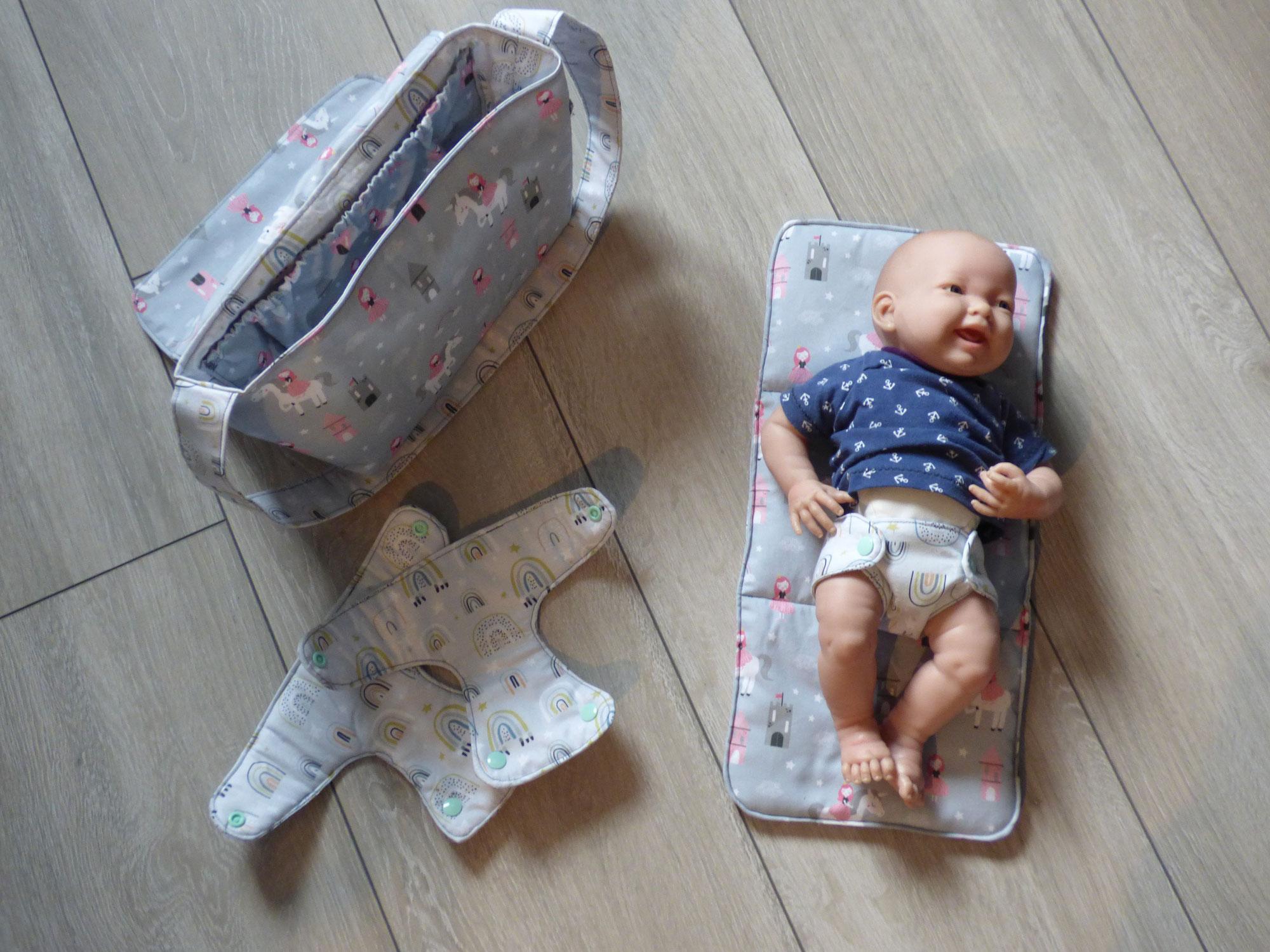 Windeltasche für Puppenmamis und -papis