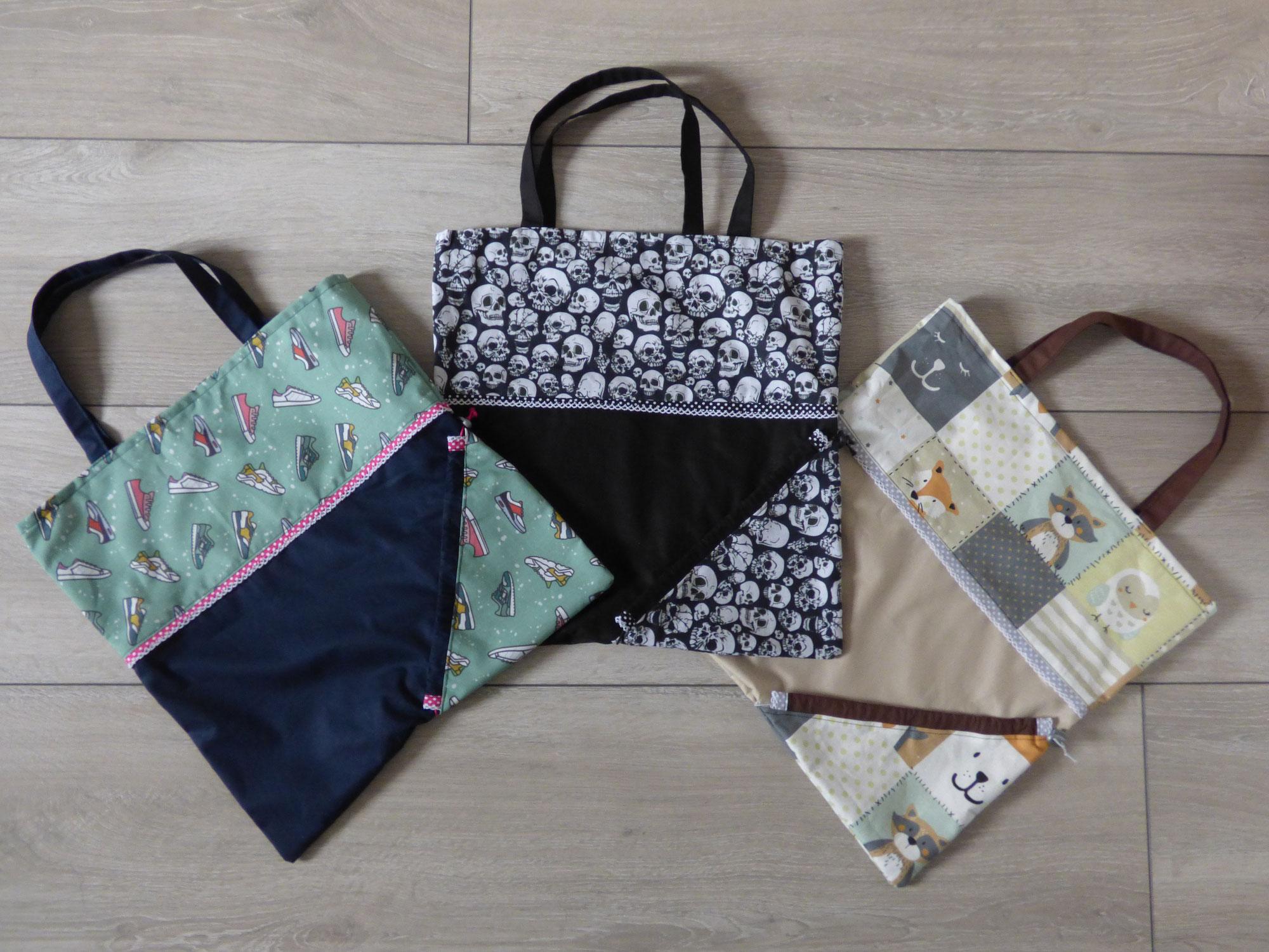 Freebook mit Suchtpotential: Faltbare Einkaufstasche