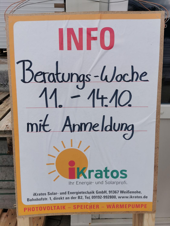 iKratos Beratungs-Woche im Rahmen der Klima-Aktionswoche