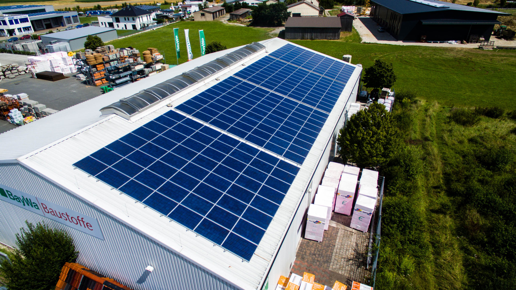 Wärmepumpe Erdwärme und Solaranlage für Strom