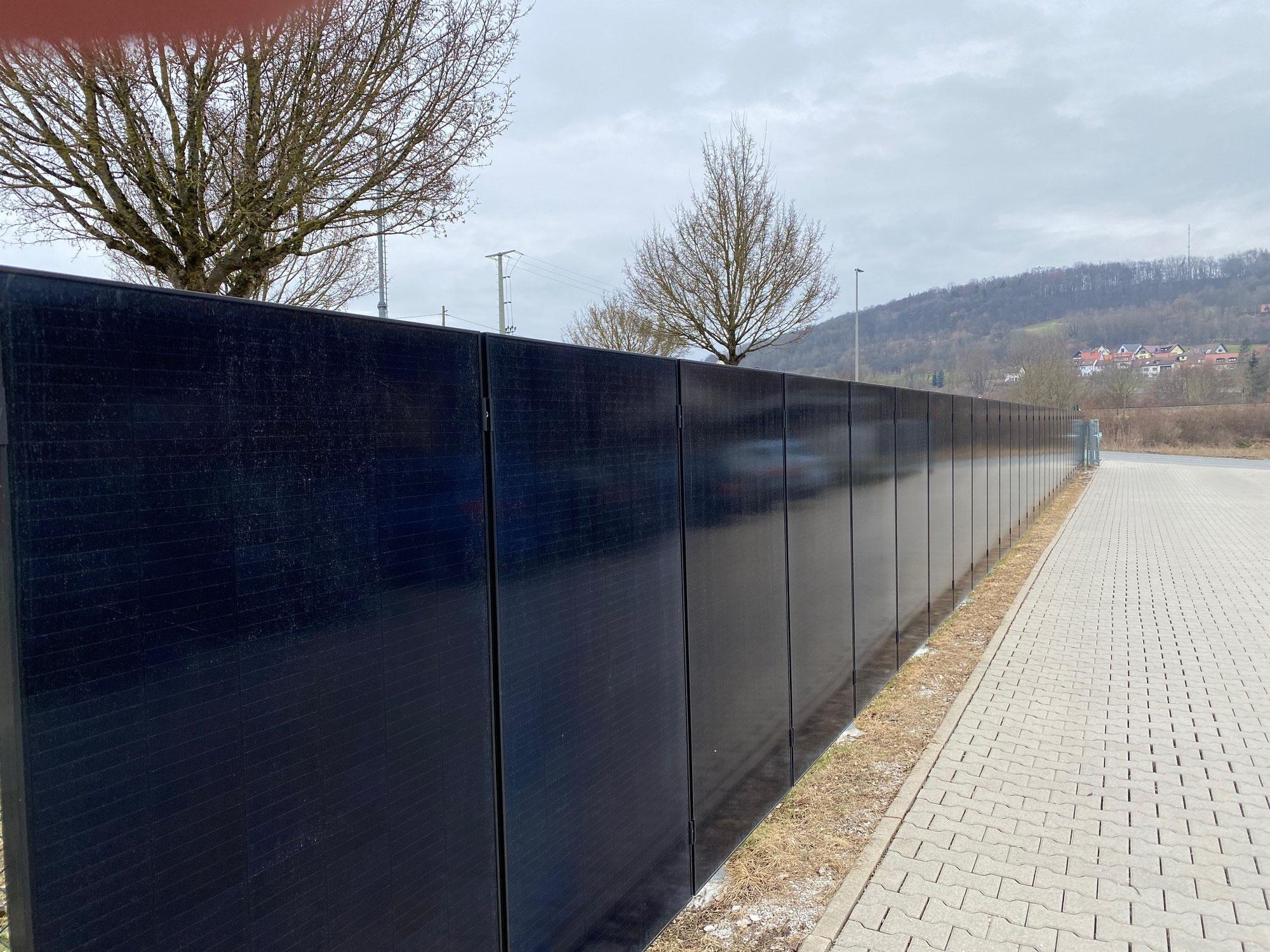Freifeldanlage - Solarzaun - Agro-Photovoltaik