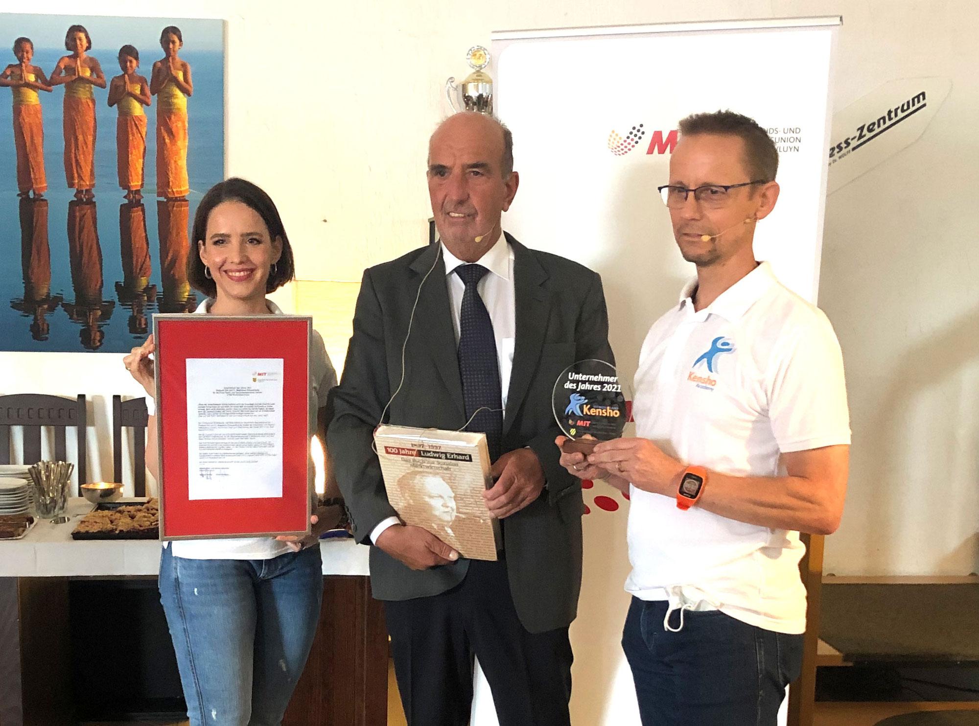 UdJ 2021: Dr. Magdalena und Dirk Schauenberg ausgezeichnet als Unternehmer des Jahres