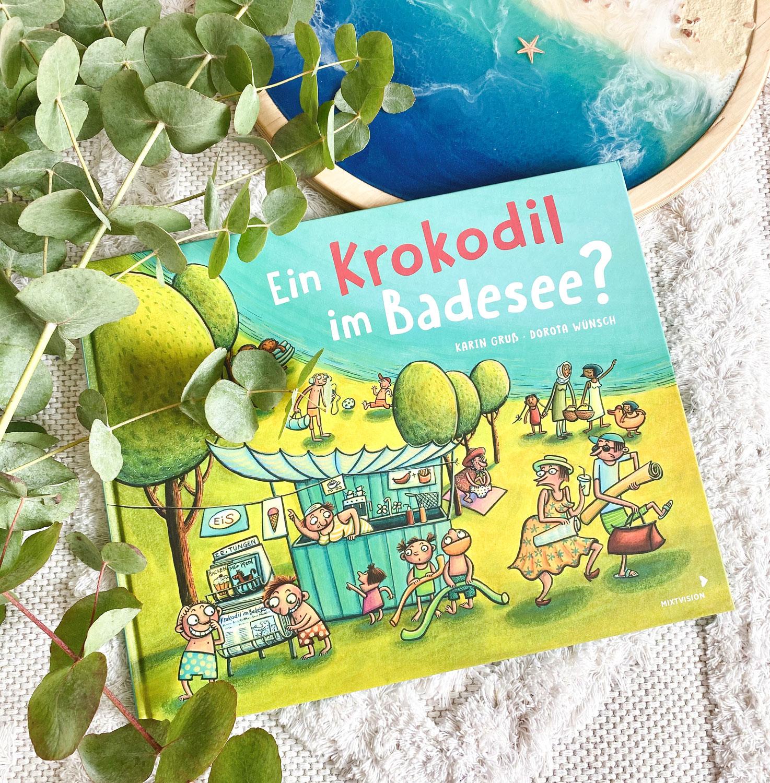 Ein Krokodil im Badesee? Ein aufregendes Wimmelbuch für deine Kita-Kinder