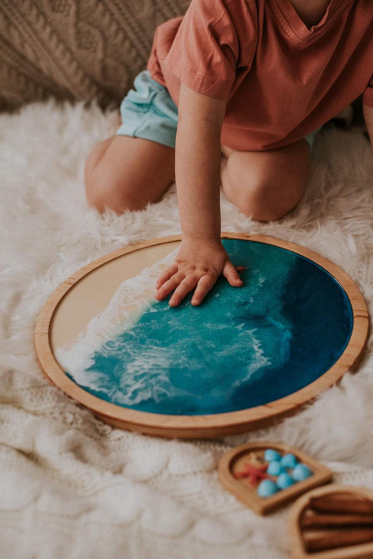 Lerntabletts aus Naturmaterialien für Kinder deiner Einrichtung
