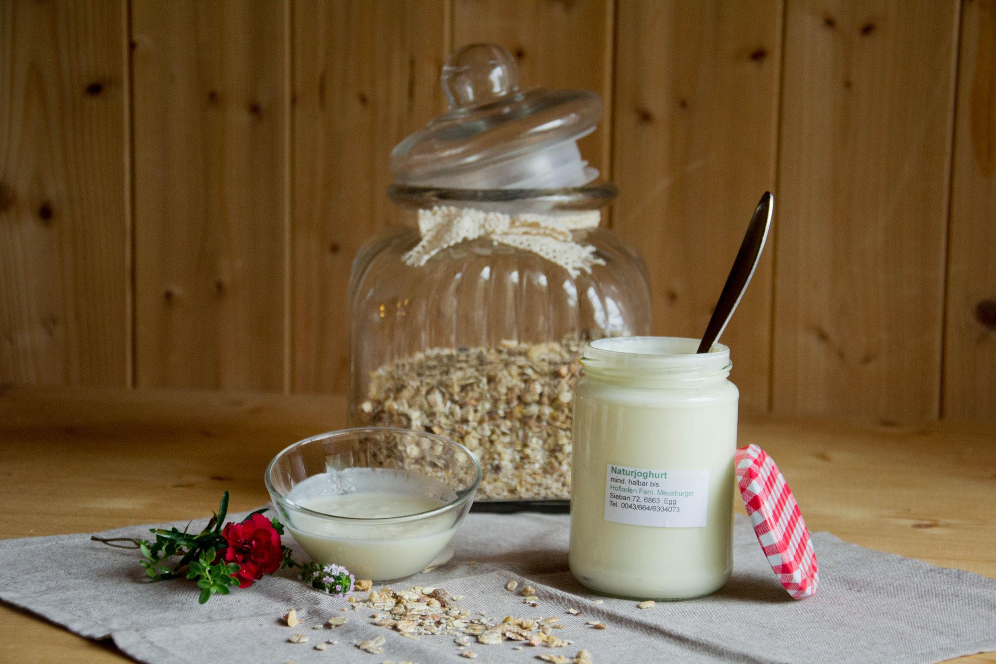 Joghurt diverse Sorten