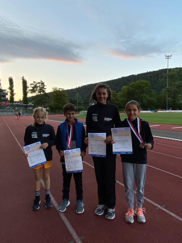 5 Medaillen am Mille Gruyère in Liestal