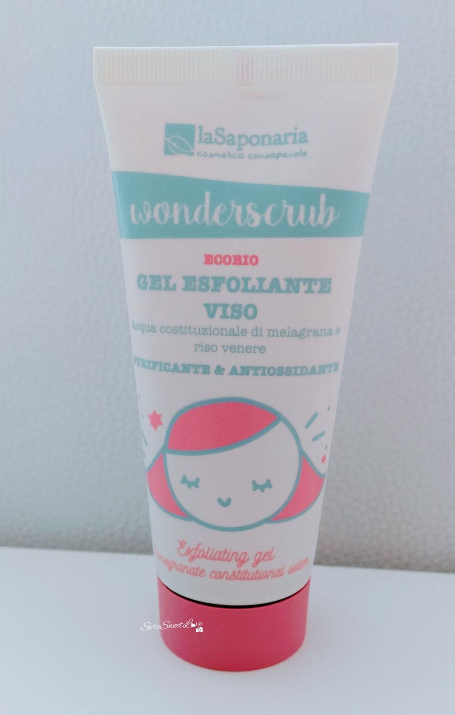 Review gel esfoliante viso ecobio laSaponaria