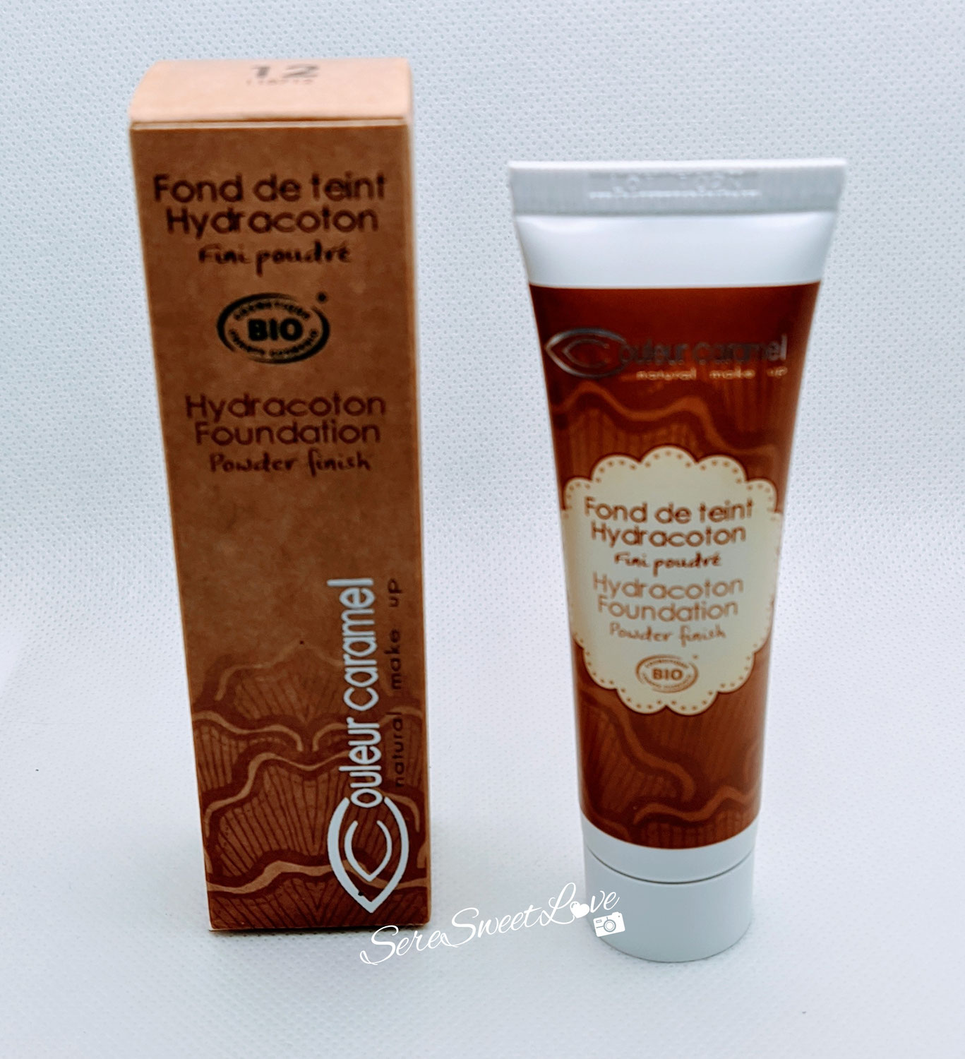 Review Fondotinta Hydracoton eco-bio di Couleur Caramel