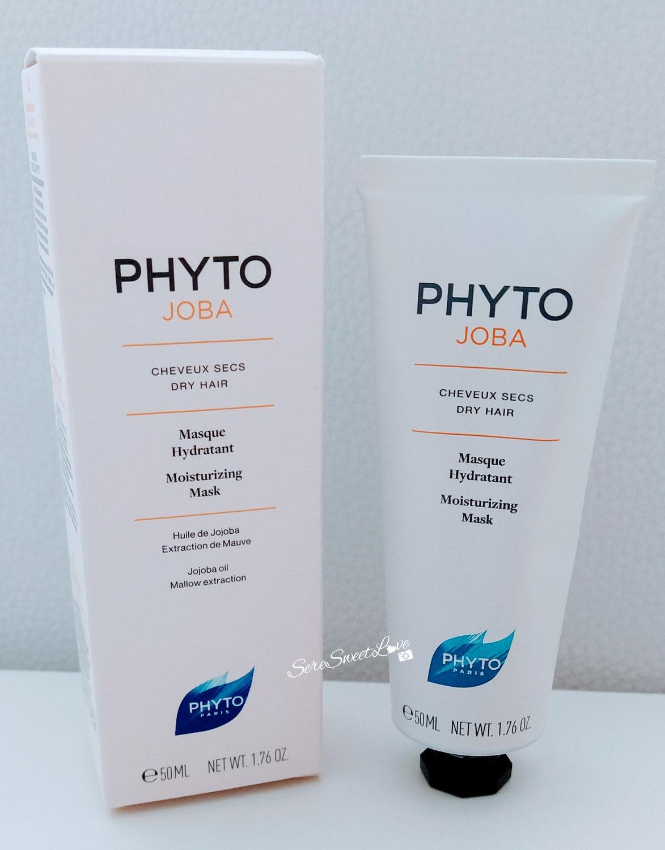 Review maschera idratante per capelli Phyto Joba