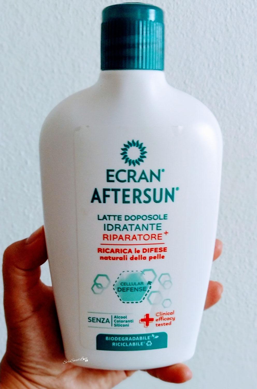 Review Ecran latte doposole idratante riparatore+