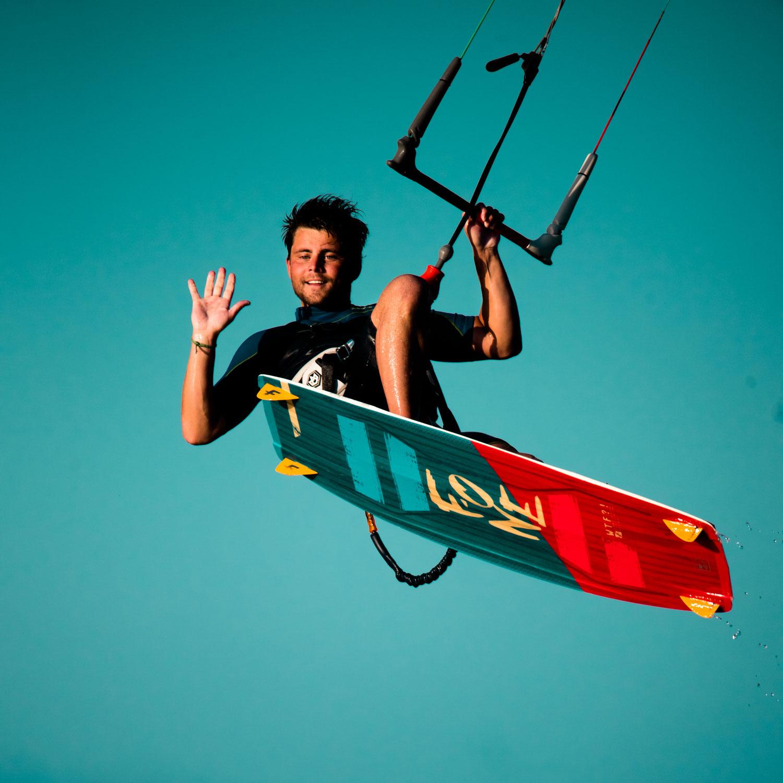 Kiting in Corralejo