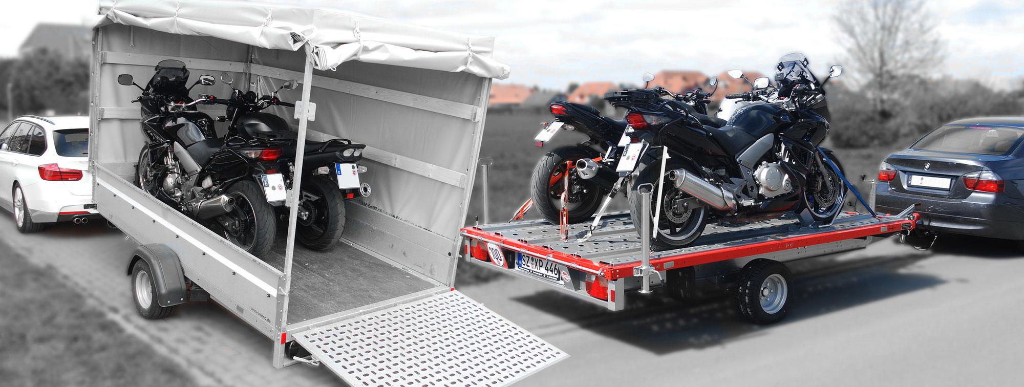 Motorradanhanger Mieten Fur Salzgitter Wolfenbuttel Braunschweig
