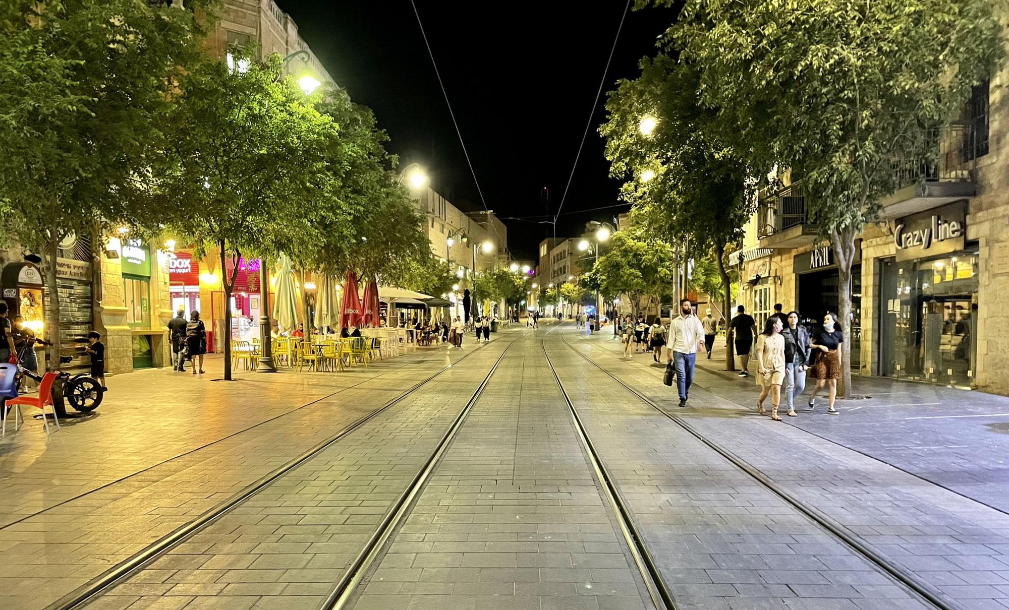 סיור ברחוב יפו חלק א׳