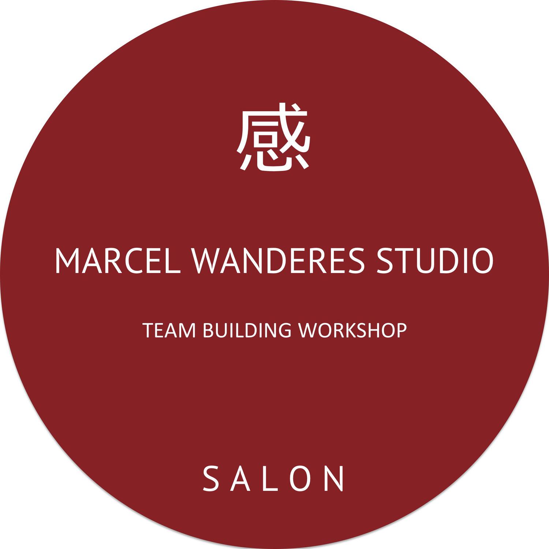 Calligraphy at MARCEL WANDERS STUDIO