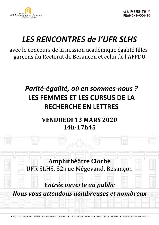 Rendez-vous à Besançon