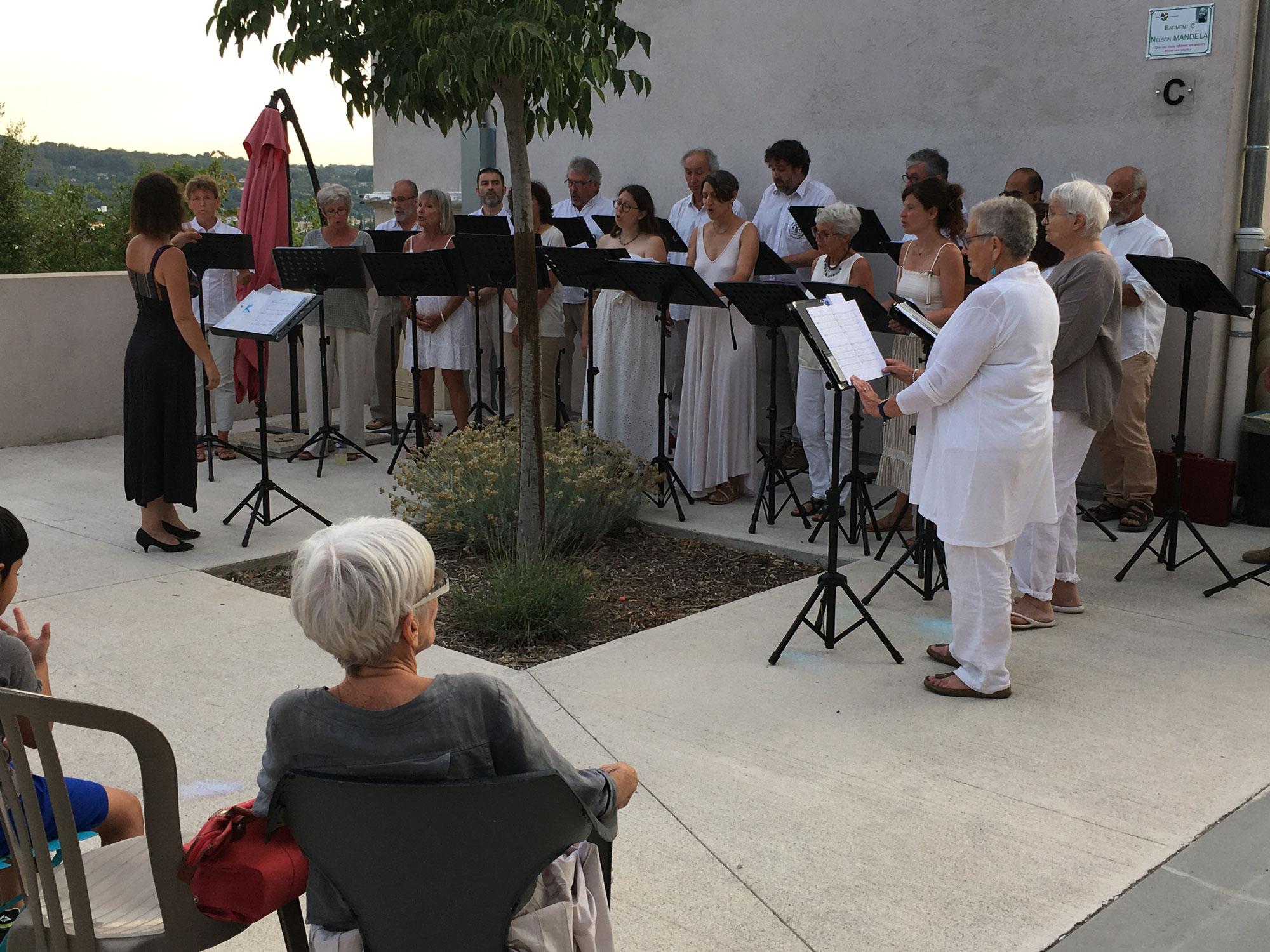 """La Camerata Vocale et """"L'amour de Moy"""""""