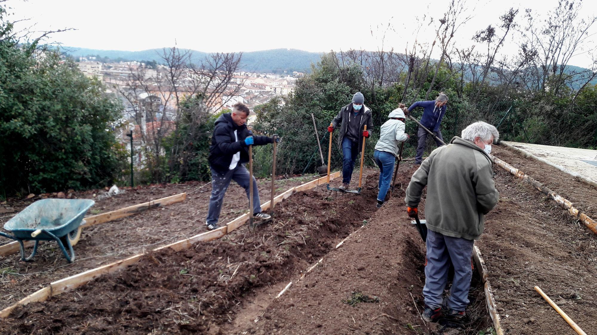 Permaculture au jardin : des buttes, dans quel but ?