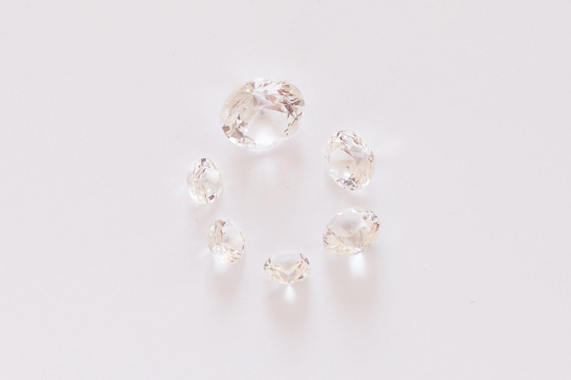 Diamant oder Brillant