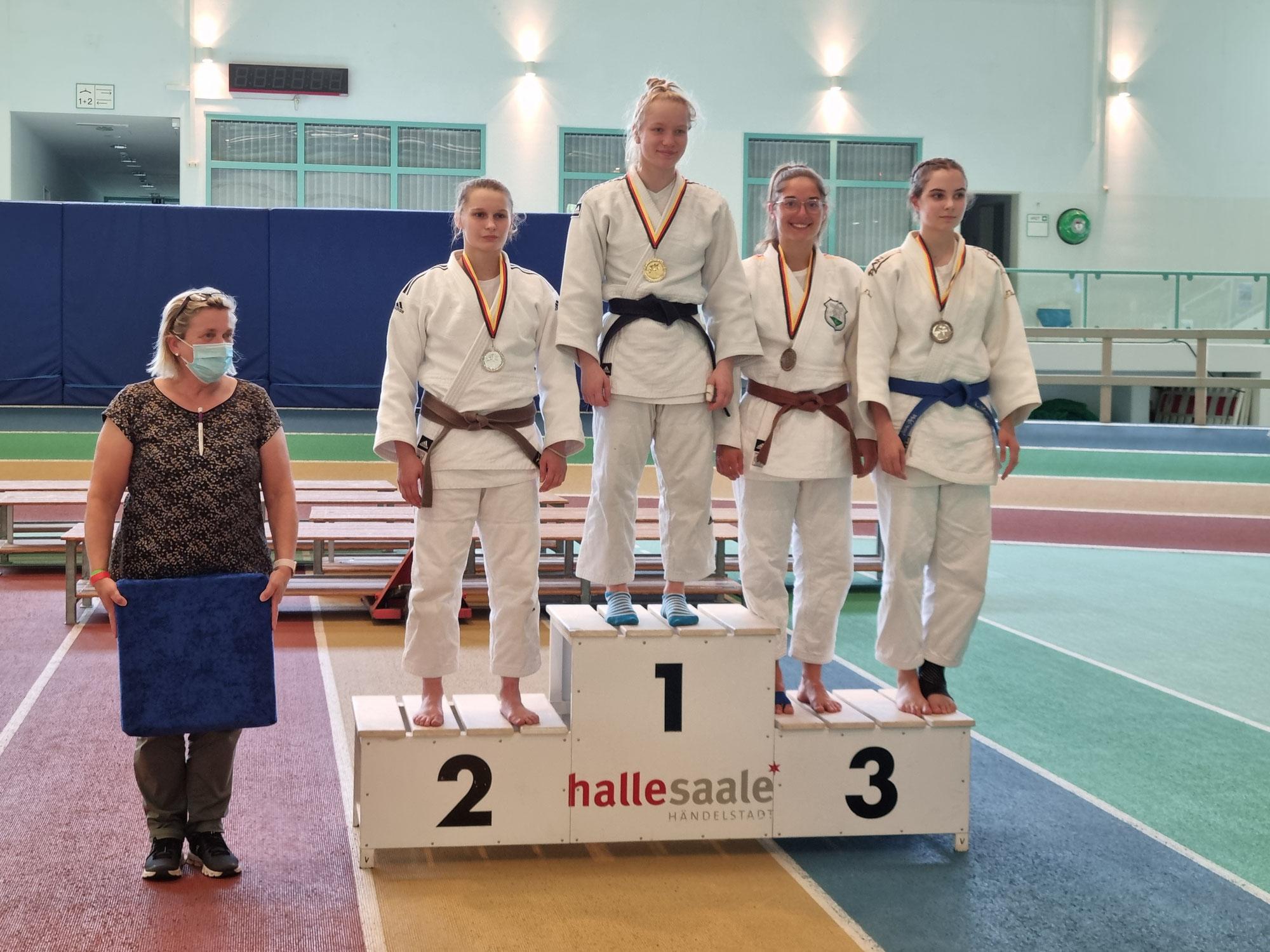 Tina Gabriel erkämpf Bronze in Halle