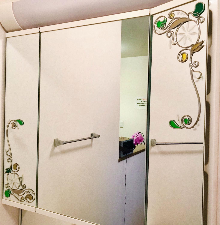 """鏡にグラスアート♪ """"こんな風に作ります""""を一挙公開!"""