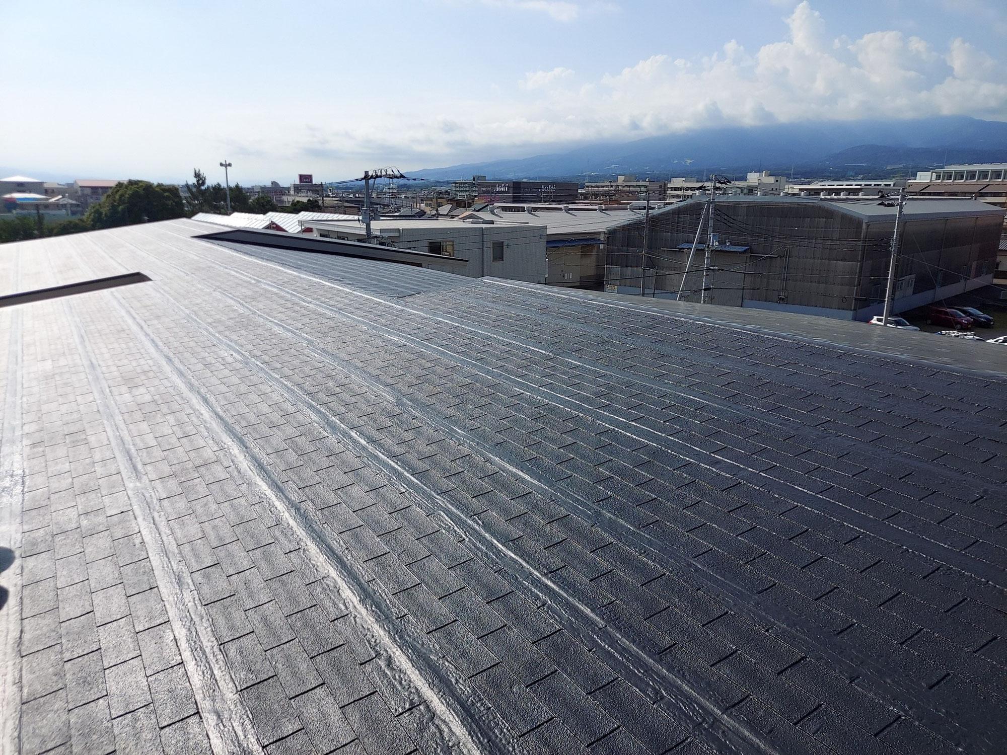 沼津k様邸屋根塗装工事 施工実績